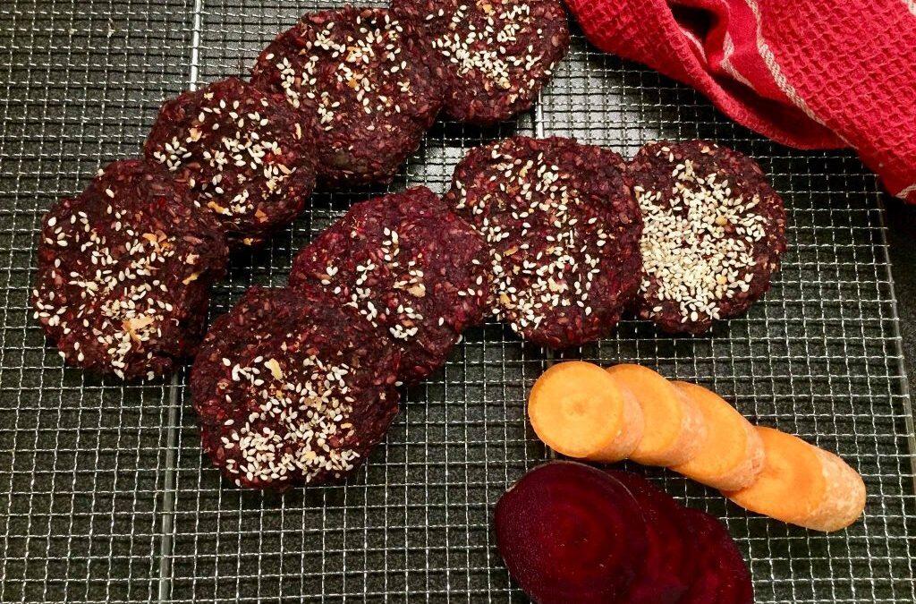 RAW karbenátky zčervenej repy +2 recepty