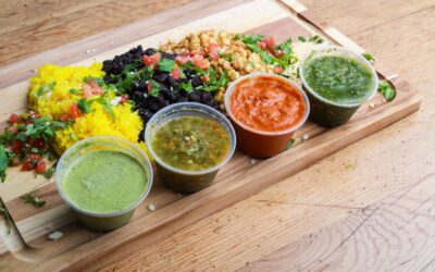 RAW vegan jednoduché omáčky a pestá