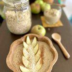 Jablkovo-ovsená smoothie bowl