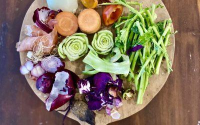 Ako spracovať zeleninové odrezky a drť zodšťavovania-silný vegánsky zeleninový vývar